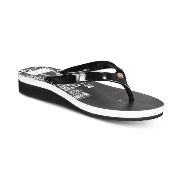 ケイト スペード kate spade new york レディース ビーチサンダル シューズ・靴 Milli Wedge Flip-Flops Black