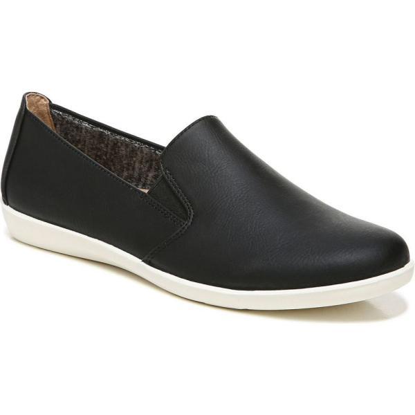 ライフストライド LifeStride レディース スリッポン・フラット シューズ・靴 Neon Slip-ons Black Faux Leather