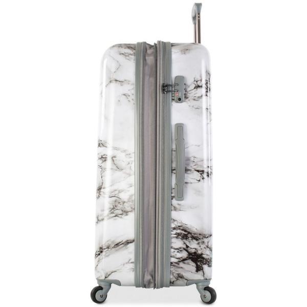 """ヘイズ Heys ユニセックス スーツケース・キャリーバッグ バッグ Bianco Stone-Print 30"""" Hardside Spinner Suitcase Marble Print"""