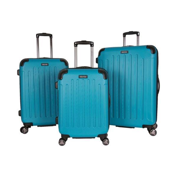 ケネス コール Kenneth Cole ユニセックス スーツケース・キャリーバッグ バッグ Renegade 3-Piece Spinner Luggage Set Teal