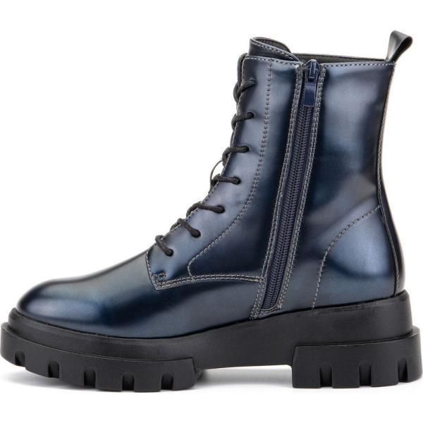オリビアミラー Olivia Miller レディース ブーツ コンバットブーツ シューズ・靴 'Exhale' High Shine Combat Boots Pewter|fermart-shoes|08