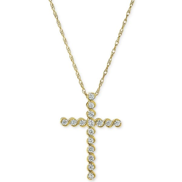 14K Yellow Gold Ram Pendant on an Adjustable 14K Yellow Gold Chain Necklace
