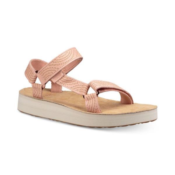 テバ Teva レディース サンダル・ミュール シューズ・靴 Midform Universal Geometric Sandals Tropical Peach fermart-shoes