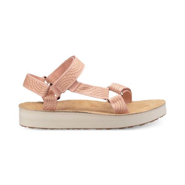テバ Teva レディース サンダル・ミュール シューズ・靴 Midform Universal Geometric Sandals Tropical Peach fermart-shoes 02