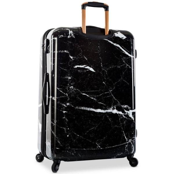 """ヘイズ Heys ユニセックス スーツケース・キャリーバッグ バッグ Marquina 30"""" Hardside Expandable Spinner Suitcase Black Stone Print"""