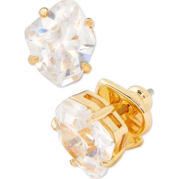 ケイト スペード kate spade new york ユニセックス イヤリング・ピアス スタッドピアス Gold-Tone Multicolor Crystal Stud Earrings Clear