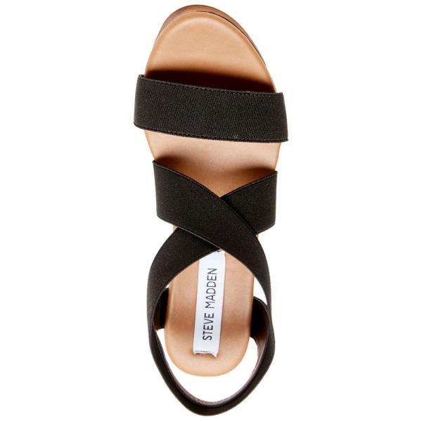 スティーブ マデン Steve Madden レディース シューズ・靴 Barbara Platform Wooden Wedges Black