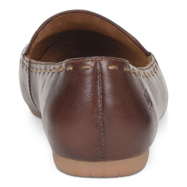 ボーン Born レディース スリッポン・フラット シューズ・靴 Maple Flats Brown