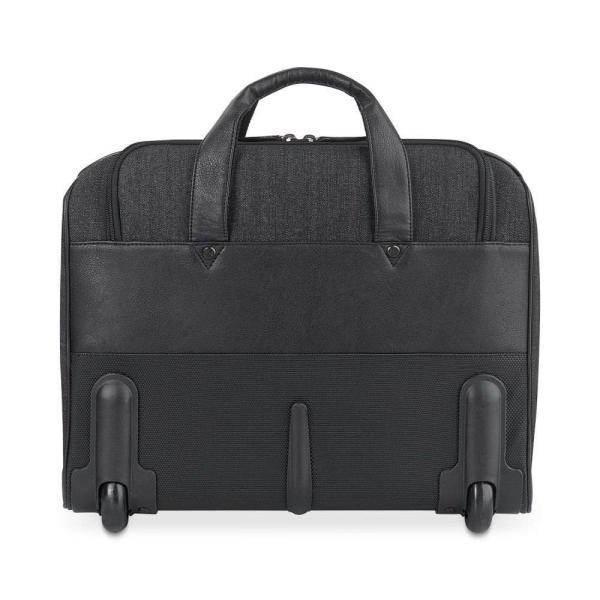 ソロ Solo メンズ パソコンバッグ バッグ Bradford Rolling Laptop Briefcase Black