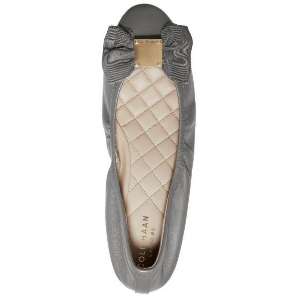 コールハーン Cole Haan レディース スリッポン・フラット シューズ・靴 Tali Bow Ballet Flats Grey