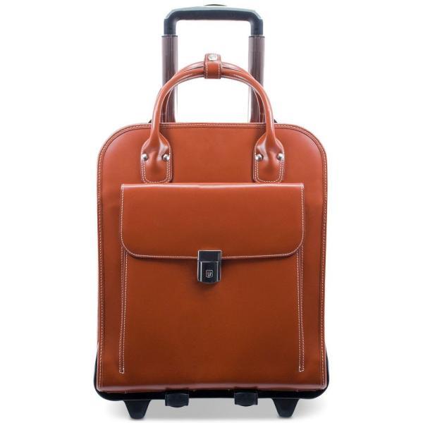 マックレーン McKlein ユニセックス スーツケース・キャリーバッグ バッグ La Grange Detachable Wheeled Briefcase Brown