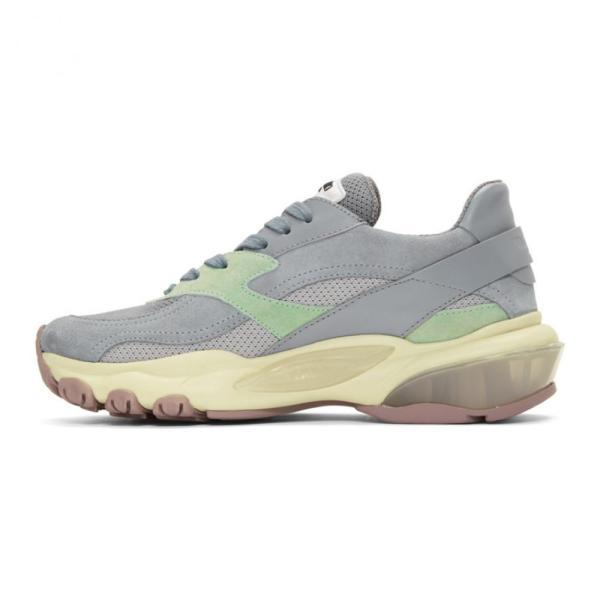 ヴァレンティノ Valentino レディース スニーカー シューズ・靴 Silver Garavani Bounce Sneakers