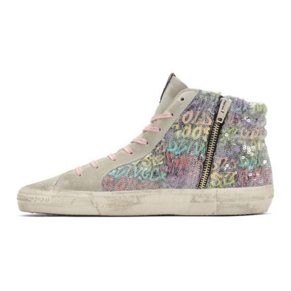 ゴールデン グース Golden Goose レディース スニーカー シューズ・靴 Multicolor Sequin Slide Sneakers
