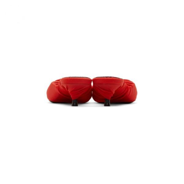 バレンシアガ Balenciaga レディース サンダル・ミュール シューズ・靴 Red Jersey Mules