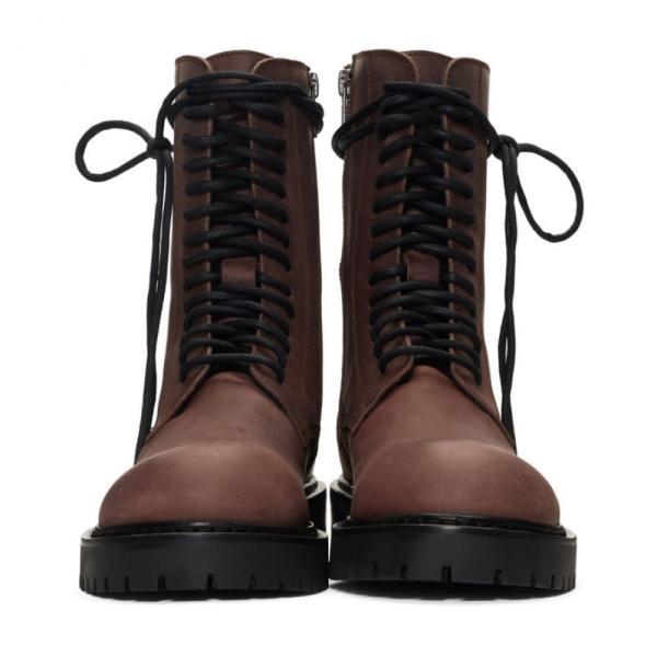 アンドゥムルメステール Ann Demeulemeester レディース ブーツ シューズ・靴 Brown Texas Lux Boots