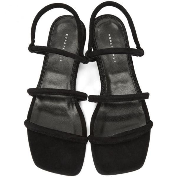 ドラティムール Dorateymur レディース サンダル・ミュール シューズ・靴 Black Suede Easy Sandals