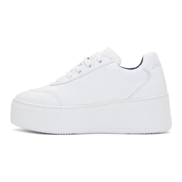 ジョシュア サンダース Joshua Sanders レディース スニーカー シューズ・靴 White Liberty Platform Sneakers