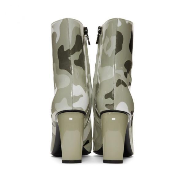 ミスビヘイブ MISBHV レディース ブーツ シューズ・靴 Grey Camo Vinyl Slicer Boots