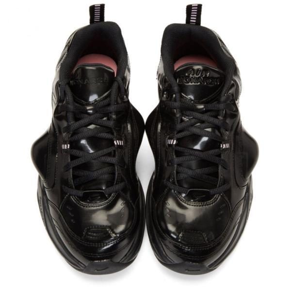ナイキ NikeLab レディース スニーカー シューズ・靴 Black Martine Rose Edition Air Monarch IV Sneakers