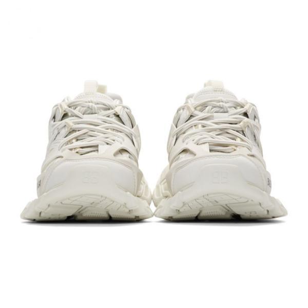 バレンシアガ Balenciaga レディース スニーカー シューズ・靴 White Track Sneakers