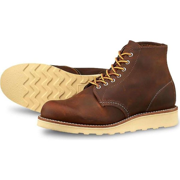 レッドウィング Red Wing Shoes レディース ブーツ シューズ・靴 Red Wing Heritage 3451 6-Inch Round Toe Boot Copper Rough And Tough