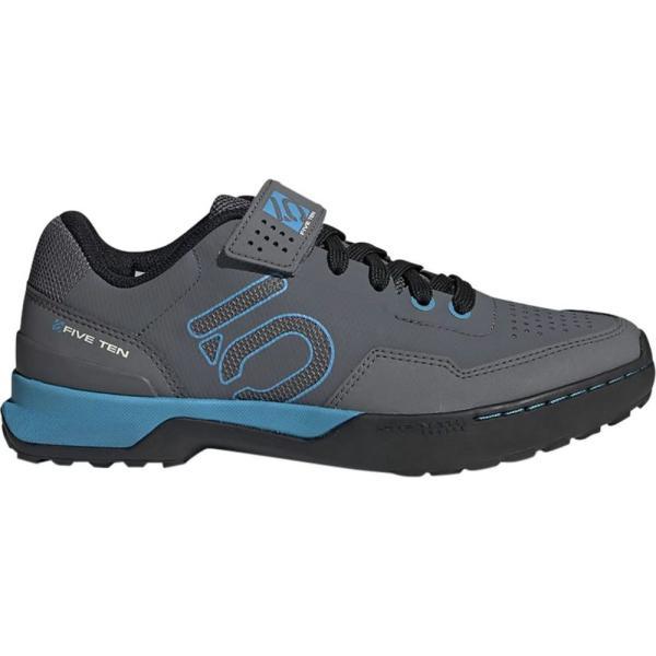 ファイブテン Five Ten レディース シューズ・靴 自転車 Kestrel Lace - Up Cycling Shoe Grey Five/Shock Cyan/Black fermart-shoes