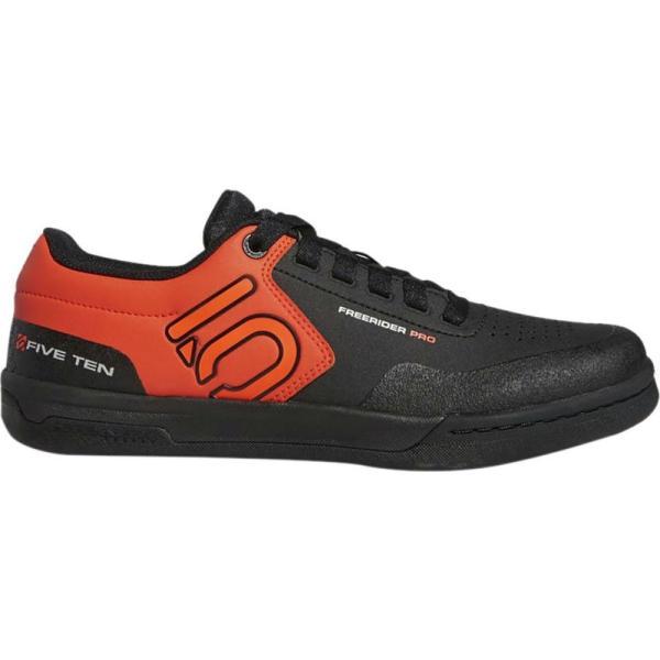 ファイブテン Five Ten メンズ シューズ・靴 自転車 Freerider Pro Cycling Shoes Black/Active Orange/Grey Two|fermart-shoes