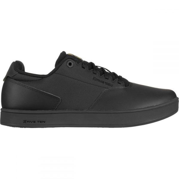 ファイブテン Five Ten メンズ シューズ・靴 自転車 District Clipless Cycling Shoes Black/Black/Gold Metallic|fermart-shoes