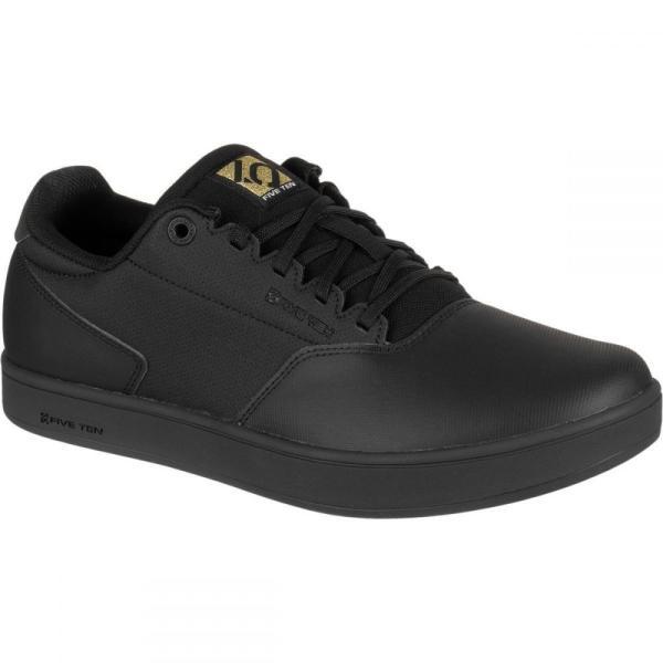 ファイブテン Five Ten メンズ シューズ・靴 自転車 District Clipless Cycling Shoes Black/Black/Gold Metallic|fermart-shoes|04