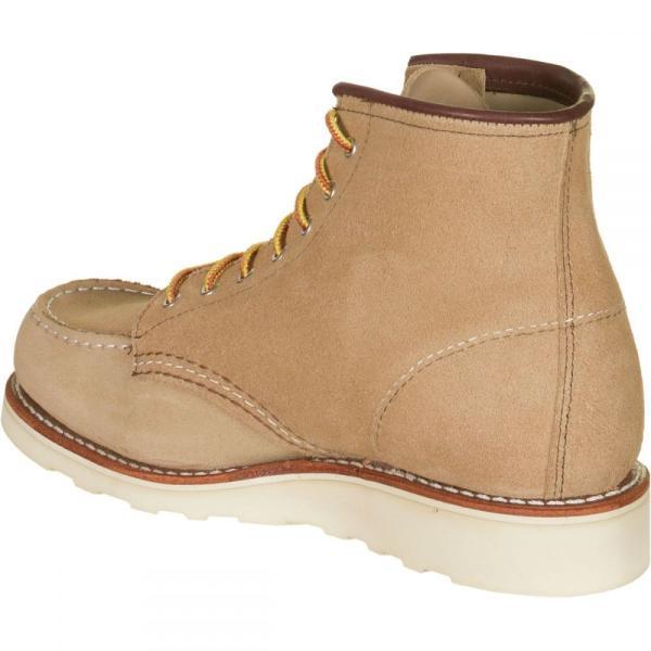 レッドウィング Red Wing Heritage レディース ブーツ シューズ・靴 Classic 6in Moc Boot Sand Mohave Leather