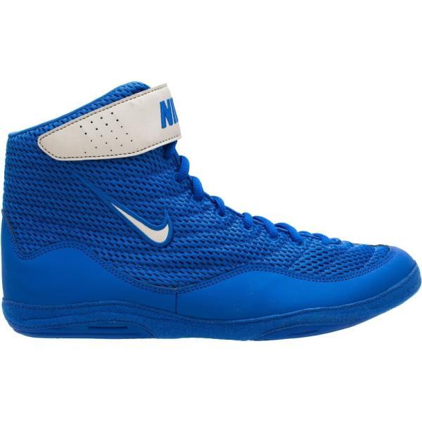 ナイキ Nike メンズ レスリング シューズ・靴 Inflict 3 Wrestling Shoes Blue/Silver