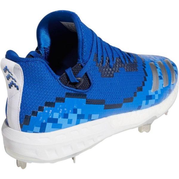 アディダス adidas メンズ 野球 スパイク シューズ?靴 Icon V 8-Bit Metal Baseball Cleats Royal/White fermart-shoes 05