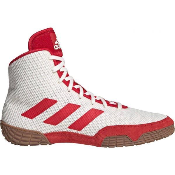 アディダス adidas メンズ レスリング シューズ・靴 Tech Fall 2.0 Wrestling Shoes White/Red