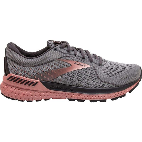 ブルックス Brooks レディース ランニング・ウォーキング シューズ・靴 Adrenaline GTS 21 Running Shoes Grey/Rosegold