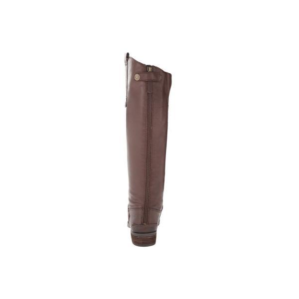 サム エデルマン Sam Edelman レディース ブーツ シューズ・靴 Penny Leather Riding Boot Dark Brown