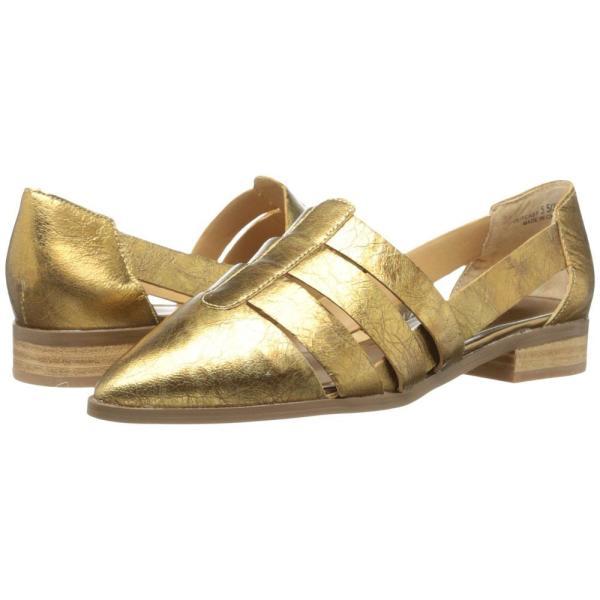 チャイニーズランドリー Chinese Laundry レディース スリッポン・フラット シューズ・靴 Outcast Leather Gold/Silver