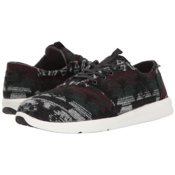 トムズ メンズ スニーカー シューズ・靴 Del Rey Forest Tribal Wool fermart-shoes