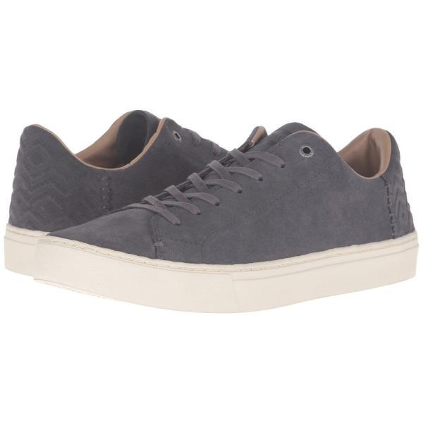 トムズ メンズ スニーカー シューズ・靴 Lenox Castlerock Grey Suede fermart-shoes