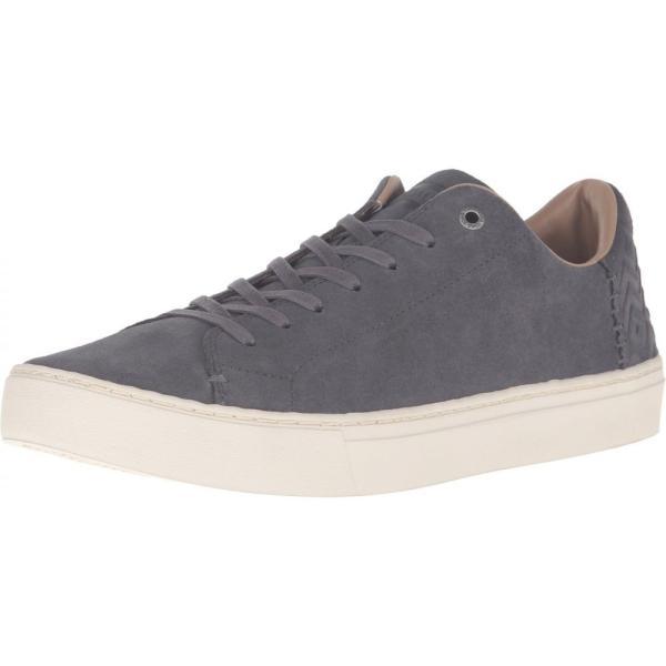 トムズ メンズ スニーカー シューズ・靴 Lenox Castlerock Grey Suede fermart-shoes 02