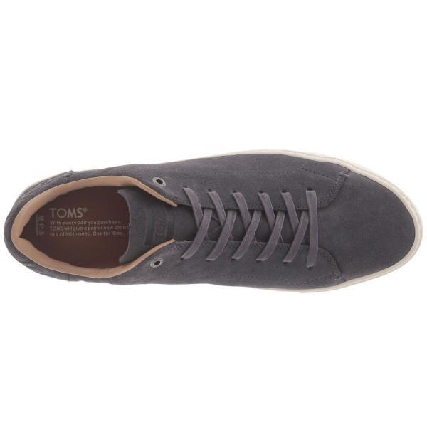 トムズ メンズ スニーカー シューズ・靴 Lenox Castlerock Grey Suede fermart-shoes 03