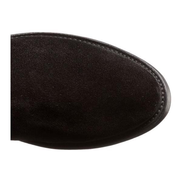 フライ レディース ブーツ シューズ・靴 Shirley Over-The-Knee Black Oiled Suede