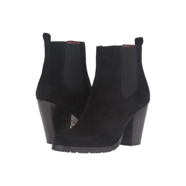 フライ Frye レディース ブーツ シューズ・靴 Tate Chelsea Black Oiled Suede