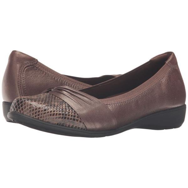 アラヴォン Aravon レディース スリッポン・フラット シューズ・靴 Andrea-AR Bronze