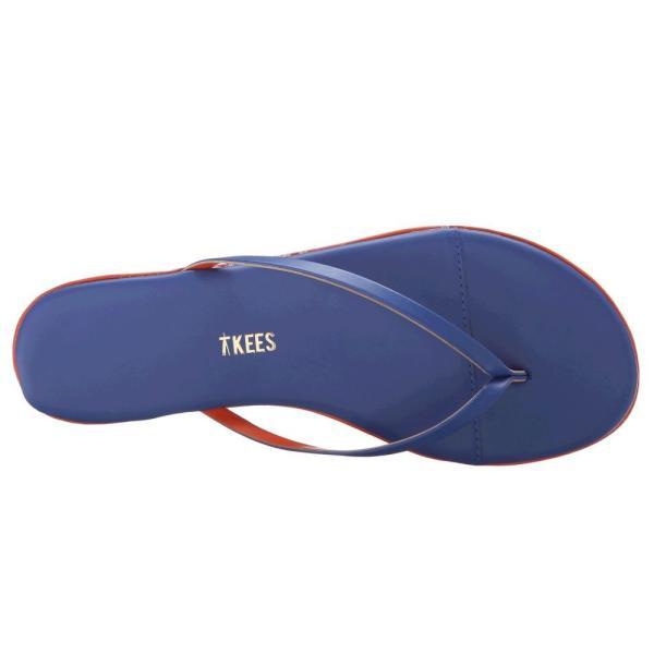 ティキーズ TKEES レディース ビーチサンダル シューズ・靴 Studio Electric Blue fermart-shoes 03