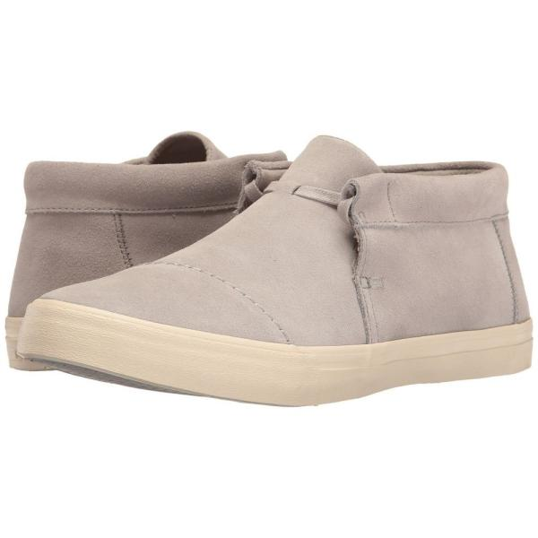 トムズ メンズ スニーカー シューズ・靴 Emerson Mid Sneaker Drizzle Grey Suede|fermart-shoes
