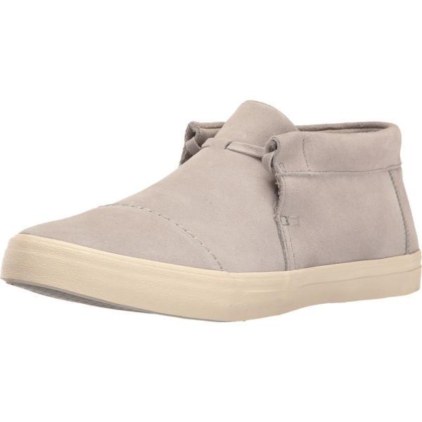 トムズ メンズ スニーカー シューズ・靴 Emerson Mid Sneaker Drizzle Grey Suede|fermart-shoes|02