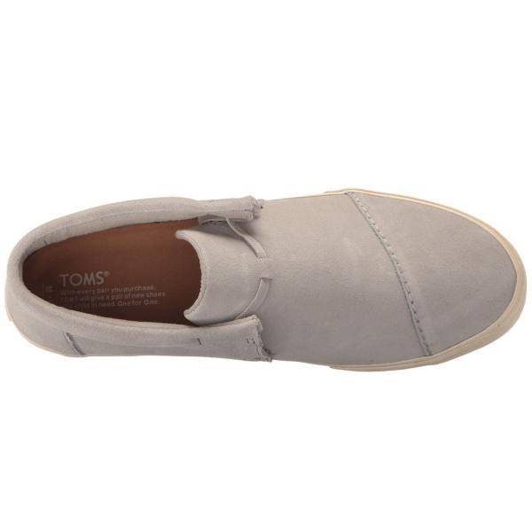 トムズ メンズ スニーカー シューズ・靴 Emerson Mid Sneaker Drizzle Grey Suede|fermart-shoes|03