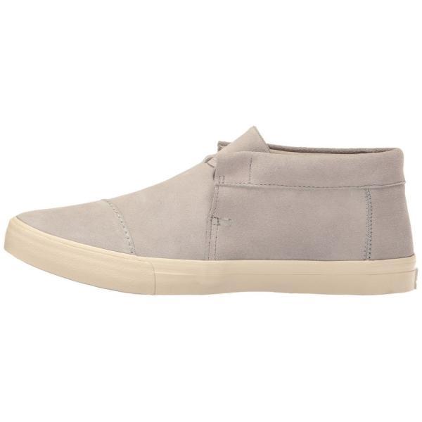 トムズ メンズ スニーカー シューズ・靴 Emerson Mid Sneaker Drizzle Grey Suede|fermart-shoes|05