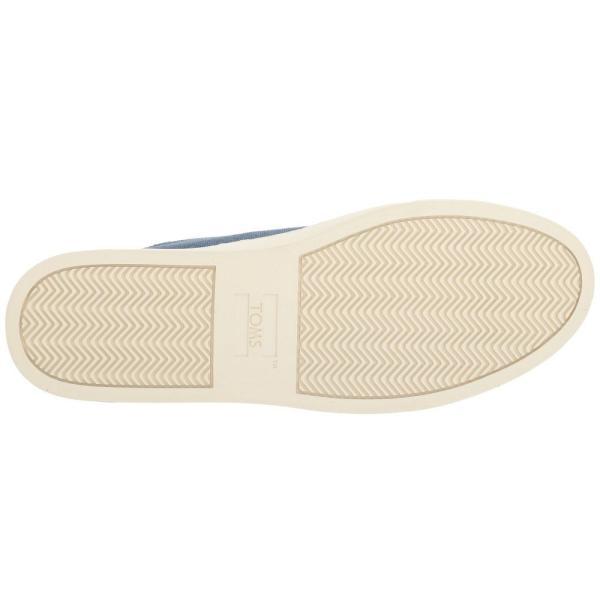 トムズ メンズ スニーカー シューズ・靴 Lenox Sneaker Navy Washed Canvas/Leather fermart-shoes 04
