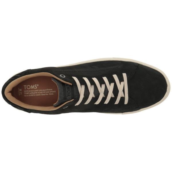 トムズ メンズ スニーカー シューズ・靴 Lenox Sneaker Black Nubuck|fermart-shoes|03